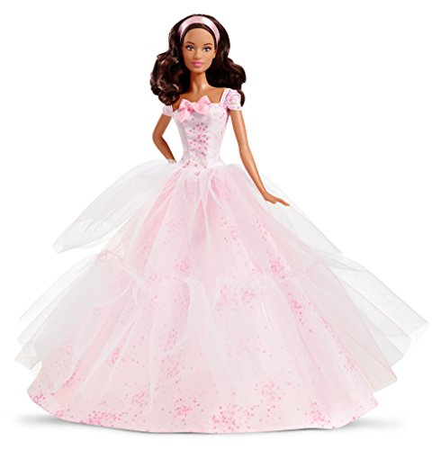 Barbie Birthday Wishes 2016 African American Doll