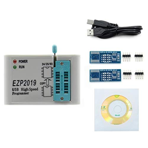 EZP2019高速USB SPIプログラマーはEZP2013より優れていますEZP2010 2011サポート24 25 93 EEPROMフラッシュBIOS-白