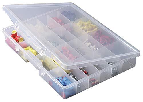 Plano Molding 5324 Portable Organizer 24-Fixed Compartments, Premium Small Parts Organization