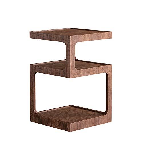 TY-ZWJ Family Art Couchtisch Regal, Modern Beistelltisch Sortierung Lagerung Ecksofa Mehrere kreative Tabellen-Foto-Rahmen-Display Rack,350mm