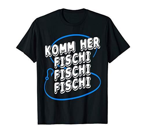 Lustiges Angeln Fischer Geschenk Fischen Angler Köder Rute T-Shirt