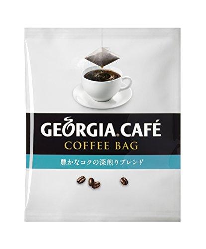 『コカ・コーラ ジョージア カフェ コーヒーバッグ 豊かなコクの深煎りブレンド 9g x 1袋』のトップ画像
