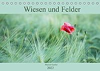Wiesen und Felder (Tischkalender 2022 DIN A5 quer): Stimmungsvolle Bilder aus der Natur (Monatskalender, 14 Seiten )