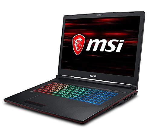 "MSI GP73 Leopard 8RE-658XES - Ordenador portátil Gaming 17.3"" FullHD (Intel Core i7-8750H, 16GB RAM, 1TB HDD + 256GB SSD, Nvidia GTX 1060 6GB, sin Sistema operativo) Teclado QWERTY Español"