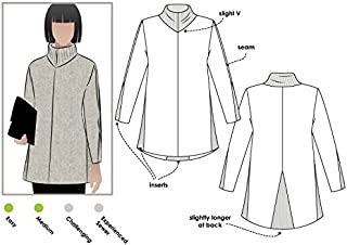Style Arc Sewing Pattern - Mavis Knit Tunic Top (Sizes 04-16) - Click for Other Sizes Available