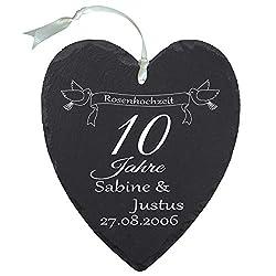 Hochzeitstag frau 10 geschenk 10. hochzeitstag