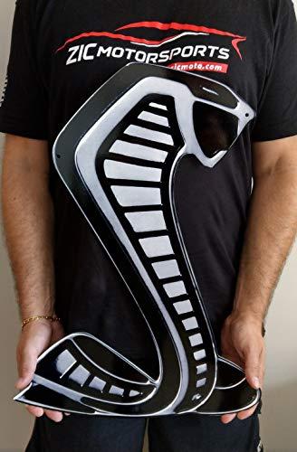 ZIC Motorsports 2020 Shelby Cobra GT500 Snake Heavy Duty Metal Sign (Large)
