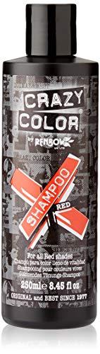Colore proteggere shampoo per i capelli rossi - Crazy Color