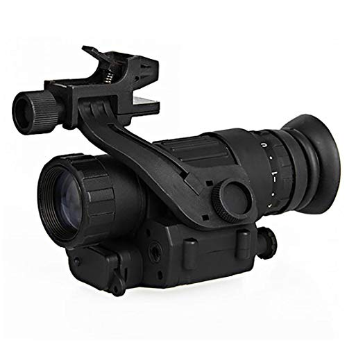 Pvs-14 Nachtsichtgerät, Nachtsicht-fernglas, Monokulare wasserdichte Infrarot Sight Ir Digitale Monokulare Montag Helm Auf Jagd/Camping