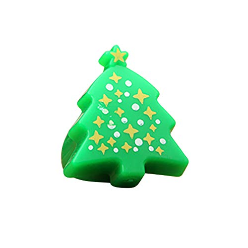 Light up Rings Party Favours for Kids - Christmas LED Finger Rings Glow Flashing Toys Party Favors Class Prizes Christmas Stocking Stuffers Party Bag Fillers Birthday Gifts for Boys and Girls (A)
