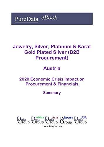 Jewelry, Silver, Platinum & Karat Gold Plated Silver (B2B Procurement) Austria Summary: 2020 Economic Crisis Impact on Revenues & Financials (English Edition)