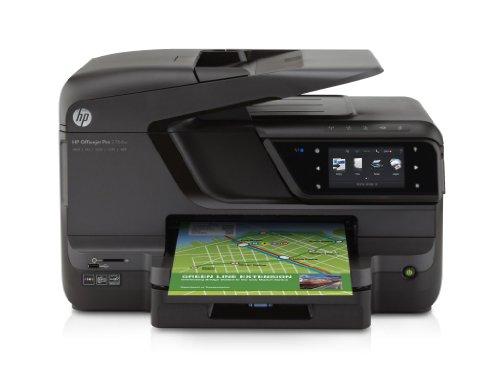 HP Officejet Pro 276dw Farbdrucker (Scanfunktion, Kopierfunktion, Faxfunktion, 1200x1200 dpi, USB 2.0) schwarz