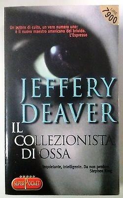 Jeffery Deaver: Il collezionista di ossa N. 118 SuperPoket Best Thriller A53