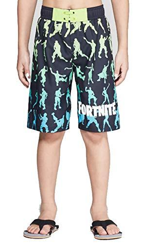 Fortnite Boys Swim Trunks (Large, Dance Moves)