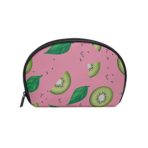 Shell Shape Makeups Bags Colorful Summer Fashion Bright Fruit Print Table Makeup Organizer Best Makeup Organizer Portable Travel Multifunction Storage Bag With Zipper For Women