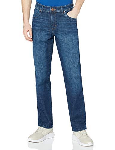 Wrangler Herren Texas Contrast' Jeans, Blau (Night Break 37W), 38W / 36L