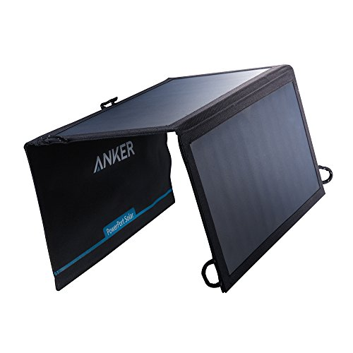Anker PowerPort Solar Lite (15W 2ポート USB ソーラーチャージャー) iPhone 6 / 6 Plus/iPad Air 2 / mini 3 / Xperia/Galaxy S6 / S6 Edge/Android各種他対応 【PowerIQ搭載】