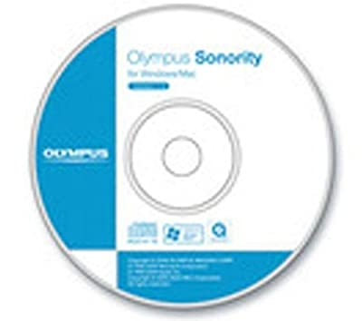 Olympus Sonority Plus CD-ROM - service management software
