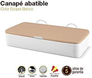 Naturconfort Canapé Abatible Tapizado Apertura Lateral Tapa