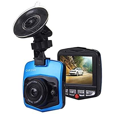 CHEZAI 480P Car Camcorder DVR Driving Recorder Digital Video Camera Voice Recorder with 2.4 Inch LCD Screen Display, Support 32GB TF Card & Infrared Night Vision Function from SPRIS