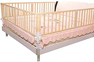 B-a-b-y  ZZA  Wooden Child Safety Bed Rail-Super High Solid And Durable -Suitable For Young Children  Color 120 41cm