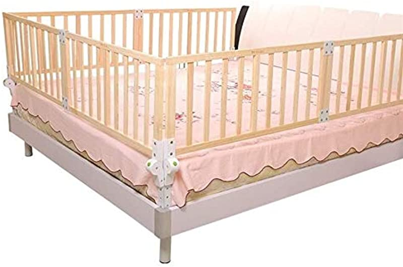 ZZA Wooden Child Safety Bed Rail Super High Solid And Durable Suitable For Young Children Color 22041cm