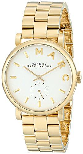 Marc by Marc Jacobs Baker Damen-Armbanduhr Analog Quarz Edelstahl MBM3243