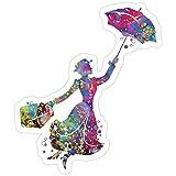 Jess-Sha Store 3 PCs Stickers Mary Poppins,...