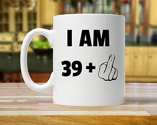 Taza de 40 cumpleaños, 40 ideas de regalos, regalo para cuarenta años, regalo de cumpleaños número 40, cuarenta fabulosos, divertidos 40 años, tazas de fiesta de cuarenta años, regalos del día