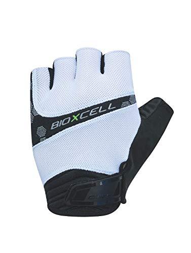 Chiba BioXCell Pro Fahrrad Handschuhe kurz weiß/schwarz 2020: Größe: XL (10)
