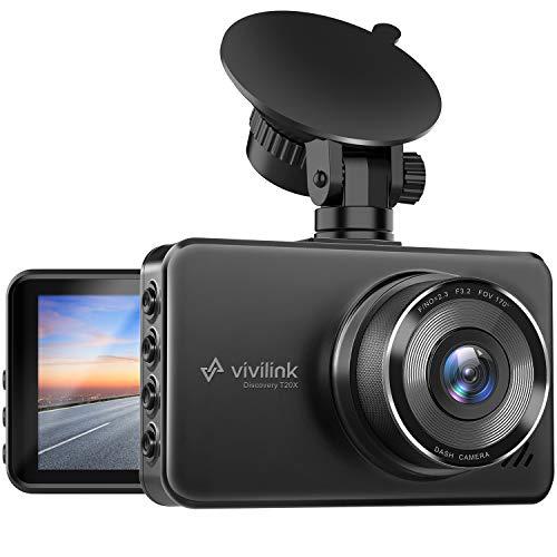 ViviLink T20X 2,5K Dashcam, FHD Dashcam Auto mit 3
