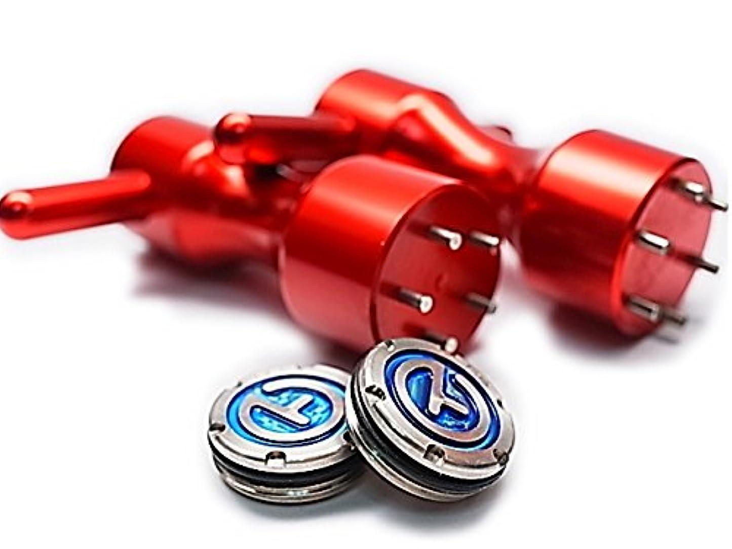 揺れるポータブル収束取付専用レンチ2個セット★スコッティー キャメロン用 サークルT X5R カスタム ウェイト 30g (BLUE)