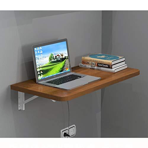 Estante Plegable estante flotante del ordenador Tabla convertible Escritorio de pared Mesa de alas abatibles Tabla ahorro de espacio que cuelga mesa de comedor esquina de la tabla mesa de estudio de M