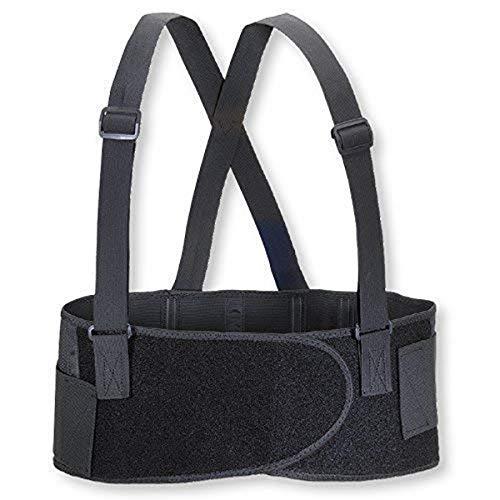 Valeo Industrial VEE7 Economy 7' Back Support Elastic Belt, VA4675, Black, Small