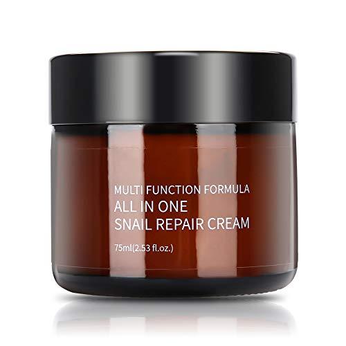 Crema de baba de caracol de día y noche para rostro y cuerpo, regeneradora, antiarrugas, 150 ml