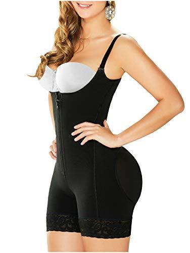 DIANE & GEORDI 2396 Women Postpartum Body Girdle Fajas Postparto Black,40/XL (Fits 40-43 Inch Waist)