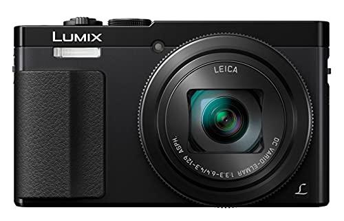 Panasonic DMC-TZ70EG-K Lumix Fotocamera Digitale, Sensore MOS 12.1 Mp, Zoom Ottico 30x, Video Full HD, Nero