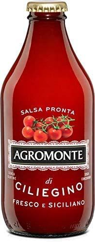 AGROMONTE Conf. 12 di Salsa Pronta di Pomodoro Ciliegino 330 g