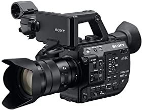 Sony Super 35 Camera System with Zoom Lens Professional Camcorder, Black (PXWFS5M2K)