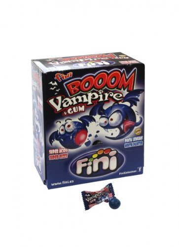 Fini Boom Vampire - Bonbon con relleno de chicle (200 unidades)