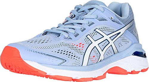 ASICS Women's GT-2000 7 Running Shoes, 9M, Mist/White