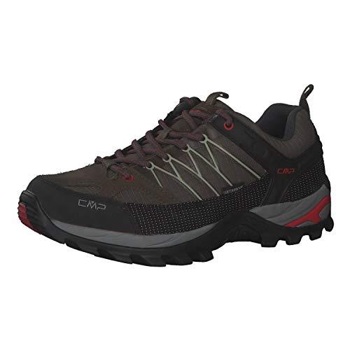 CMP Herren Trekking Schuhe Rigel Low 3Q54457 Wood-Arena 43