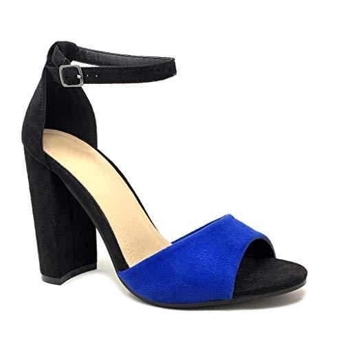 Angkorly - Chaussure Mode Escarpin Sandale Hauts Talons...