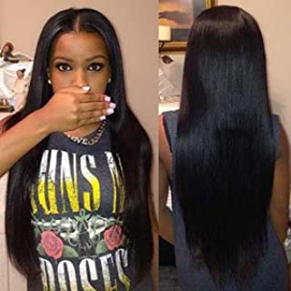 ISEE Hair 8A Peruvian Remy Hair Silky Straight Hair Weave 100% Unprocessed Peruvian Straight Hair 3 Bundles Natural Color 18inches