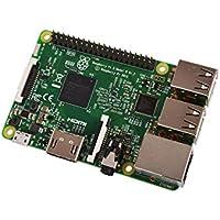 Raspberry Pi 3 Model B, CPU Quad Core 1,2GHz Broadcom BCM2837 64bit , 1GB RAM, WiFi, Bluetooth BLE