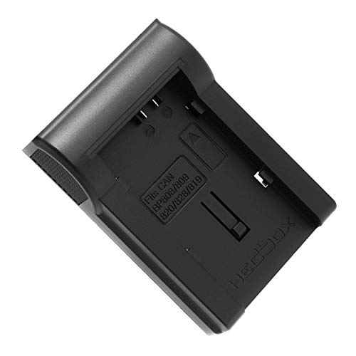 HEDBOX | RP-DBP808 | Piastra caricabatteria per batteria Canon BP-808