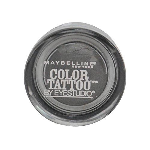 2 Pack- Maybelline Color Tattoo By Eyestudio 24 Hr Eye Shadow #15 Audacious Asphalt