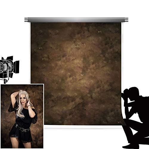 Kate Fondale Fotografico 1,5x2,2m Retro Solid Brown Colore Fotografia Sfondo Studio Neonato Ritratto Shooting Panno Microfibra Photo Booth Matrimonio