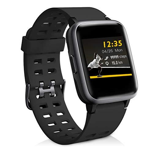 Reloj Inteligentes, YAGALA IP68 Smartwatch, Pulsera Deportiva Inteligente Para Niños y Niñas, Con Contador De Calorías De Monitor De Sueño, Podómetro De Monitorización De La Frecuencia Cardíaca