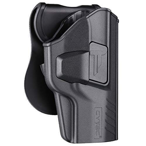 """Polymer OWB Holster Fit Beretta PX4 Storm 4"""" Full Size   UNFIT PX4 Compact or Subcomapct - Index Finger Released   360°Adjustable Cant   Autolock   Outside Waistband - Right Handed"""